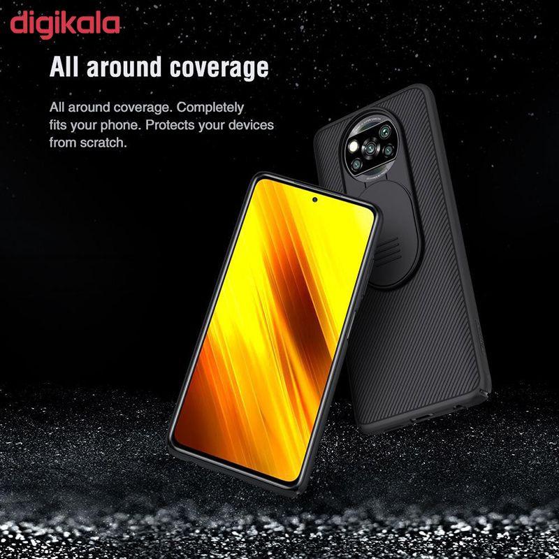 کاور نیلکین مدل Camshield مناسب برای گوشی موبایل شیائومی POCO X3 NFC main 1 7