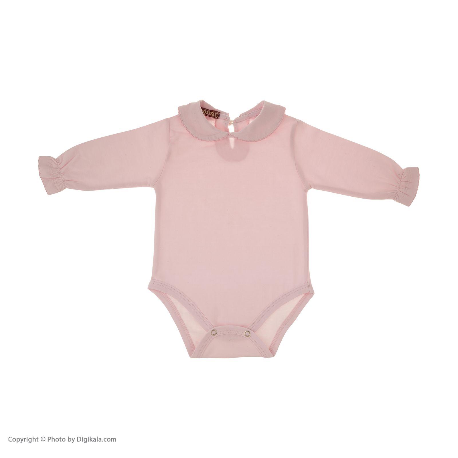 بادی نوزادی دخترانهنونا مدل 221110329-84 -  - 2