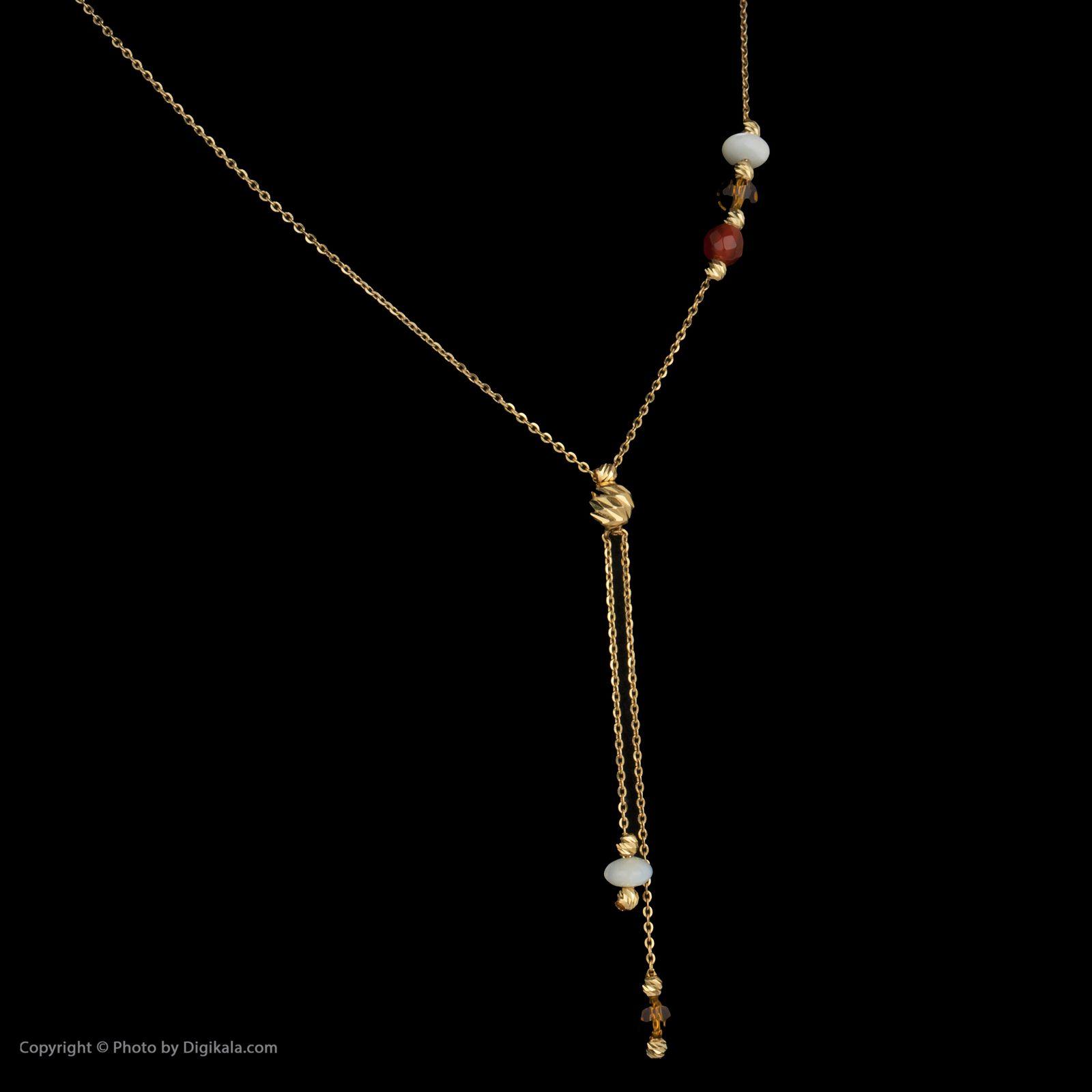 گردنبند طلا 18 عیار زنانه سیودو مدل 145816 -  - 4