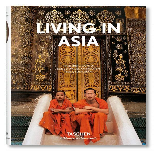 کتاب Living in Asia اثر Sunil Sethi نشر TASCHEN