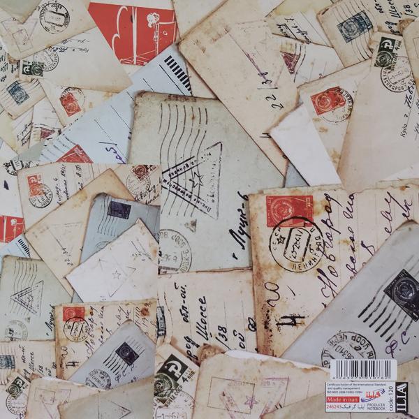 کاغذ کادو ایلیا گرافیک کد 257 بسته 5 عددی