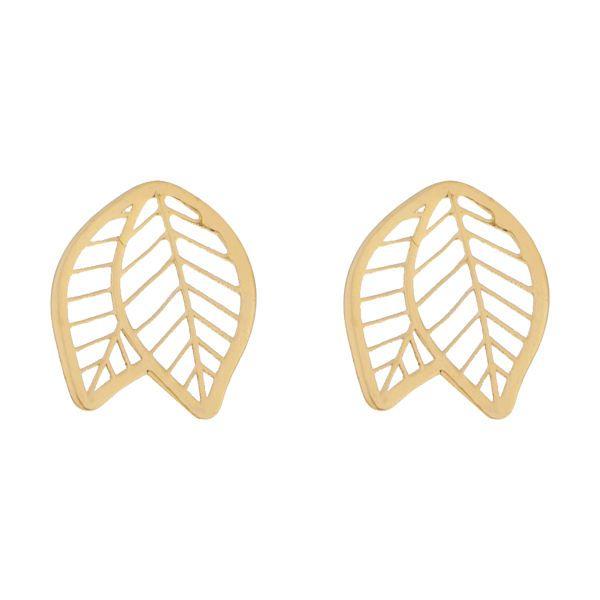 گوشواره طلا 18 عیار زنانه کانیار گالری کد GOA106