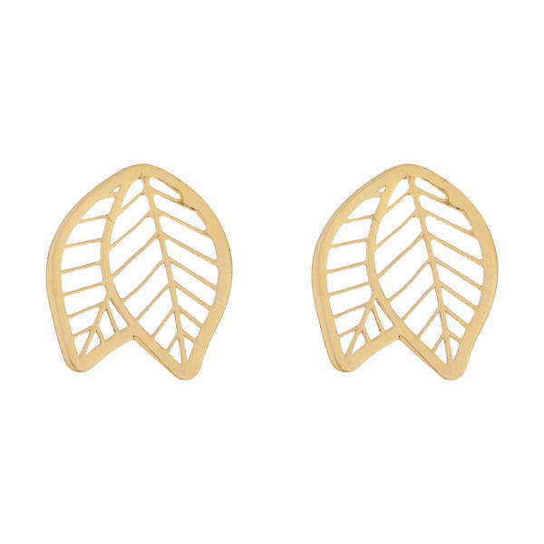 گوشواره طلا 18 عیار زنانه کانیار گالری کد GOA106 -  - 2