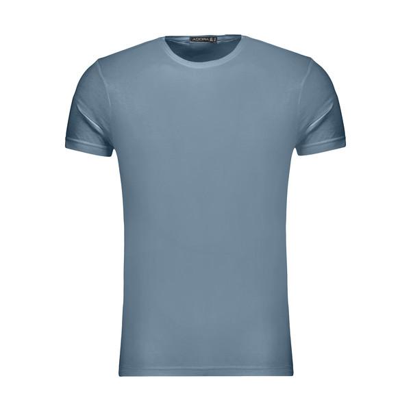 تیشرت آستین کوتاه مردانه ادورا مدل 29915031 رنگ آبی روشن