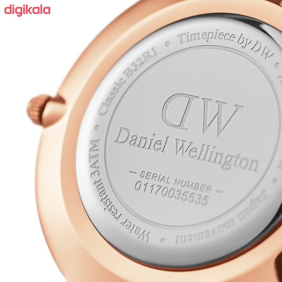 ساعت مچی عقربه ای زنانه دنیل ولینگتون مدل petit-melrose