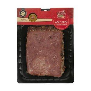 ژامبون سزامی 90 درصد گوشت قرمز سولیکو - 300 گرم