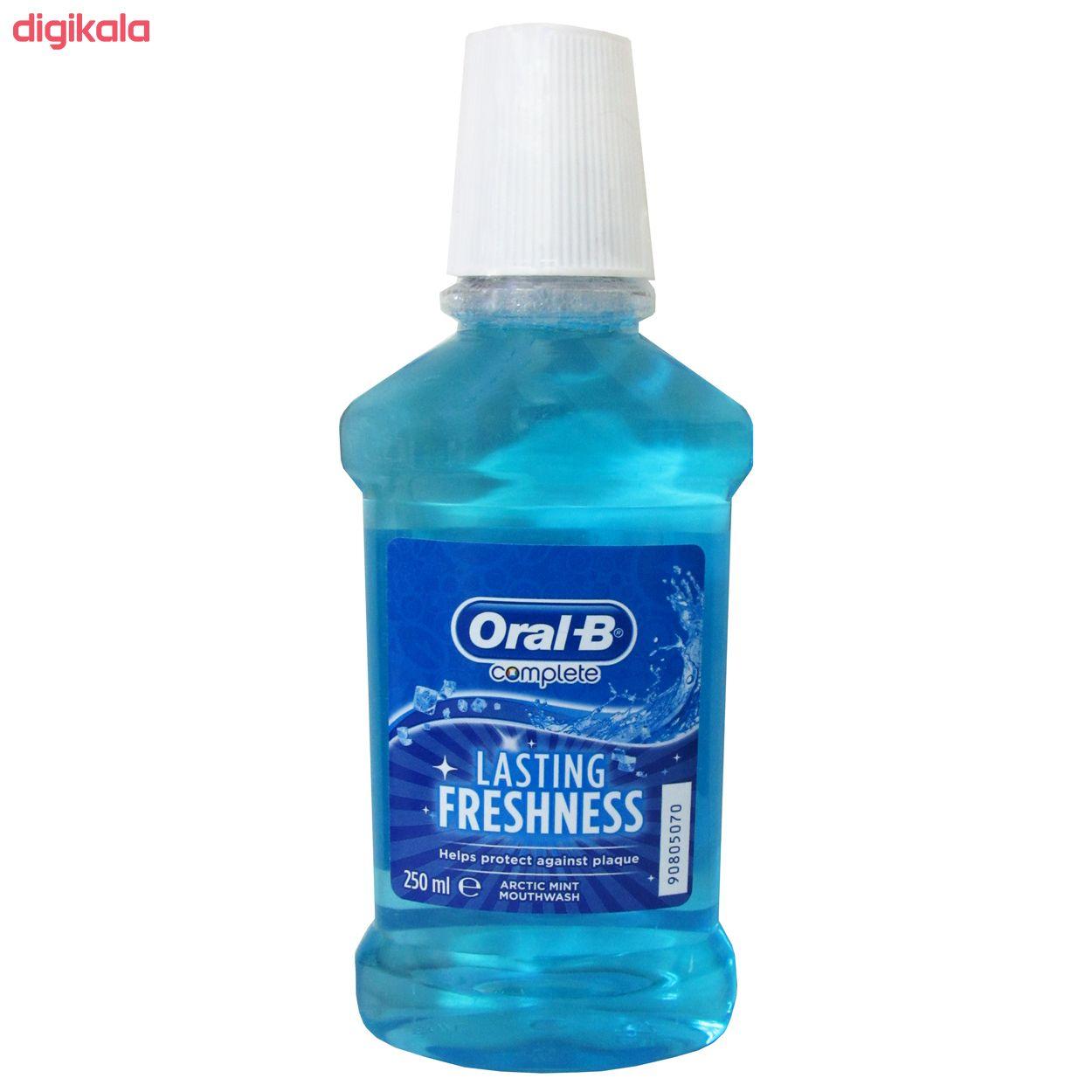 دهان شویه اورال بی سری Complete مدل Lasting Freshness حجم 250 میلی لیتر main 1 1