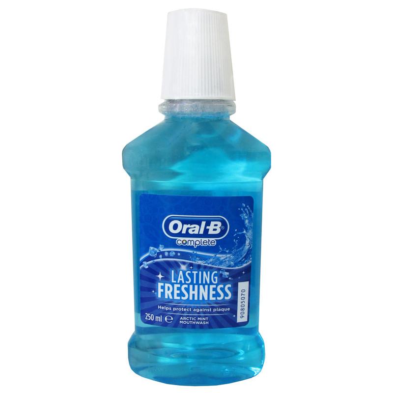 دهان شویه اورال بی سری Complete مدل Lasting Freshness حجم 250 میلی لیتر