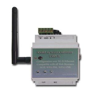 مبدل پورت RS485 به Ethernet مدل AEP_U485W