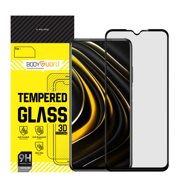 محافظ صفحه نمایش مات بادیگارد مدل MX مناسب برای گوشی موبایل شیائومی Poco M3