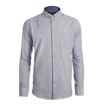 پیراهن آستین بلند مردانه ناوالس مدل 8020KH-TC