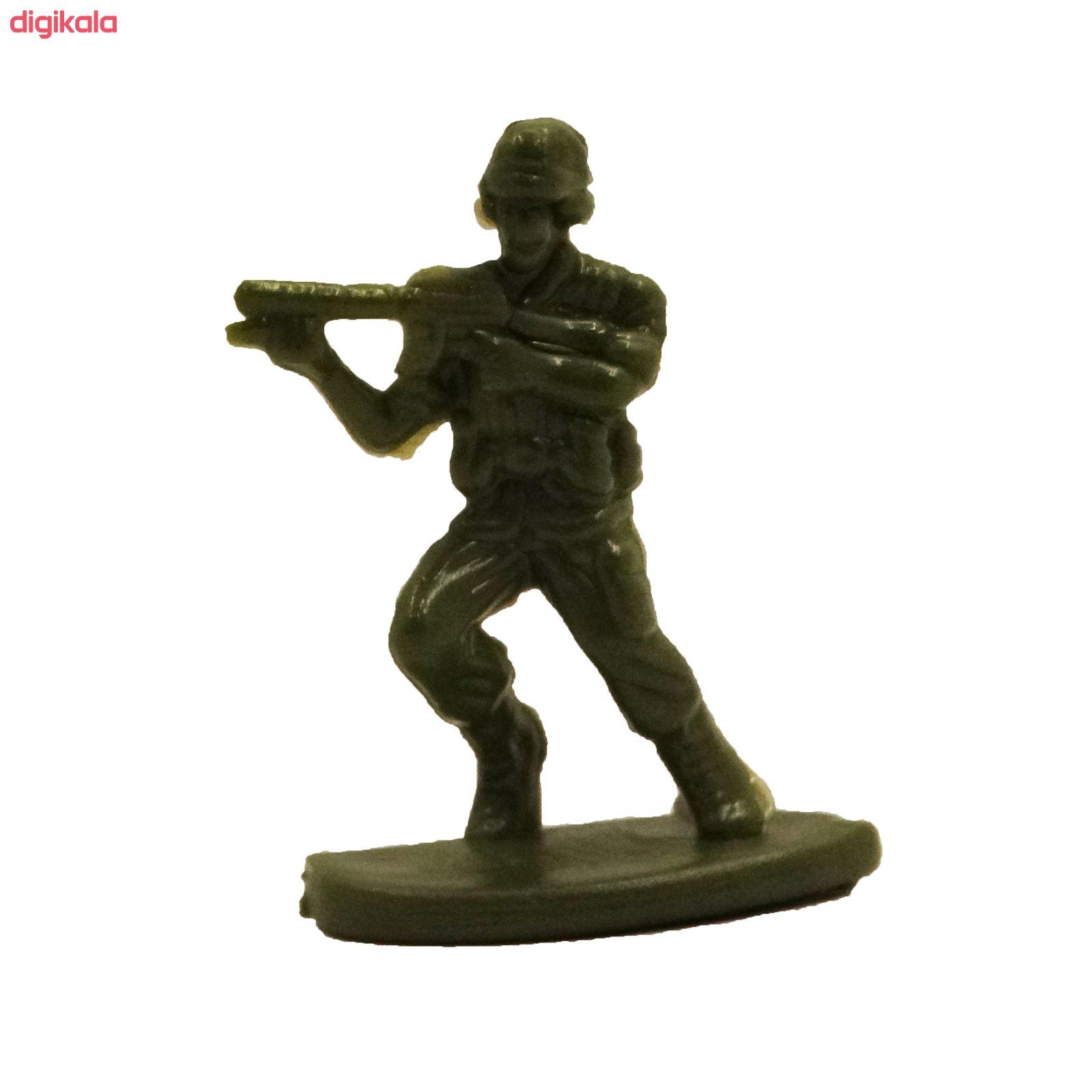 اسباب بازی جنگی مدل پادگان مجموعه 23 عددی main 1 19