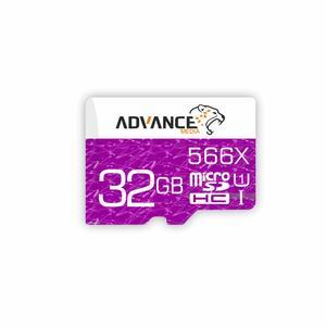کارت حافظه microSDHC ادونس مدل 566X کلاس 10 استاندارد UHS-I U1 سرعت 85MBps ظرفیت 32گیگابایت