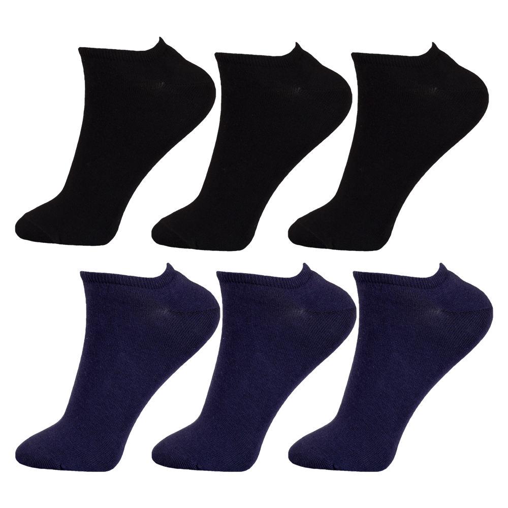 جوراب مردانه مستر جوراب کد BL-MRM 115 مجموعه 6 عددی