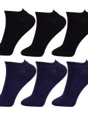 جوراب زنانه مستر جوراب کد BL-MRM 219 مجموعه 6 عددی -  - 1