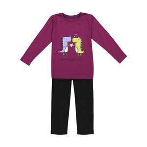 ست تی شرت و شلوار دخترانه ناربن مدل 1521266-67
