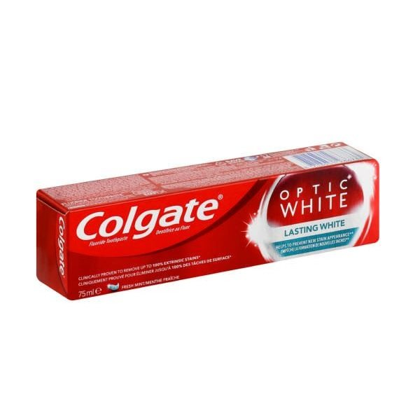 خمیر دندان کلگیت سری Optic White مدل LSW حجم 75 میلی لیتر