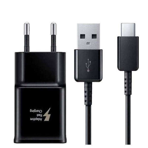 شارژر دیواری مدل EP-TA200به همراه کابل تبدیل USB-C                      غیر اصل