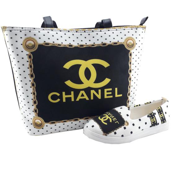 ست کیف و کفش زنانه مدل Ch01