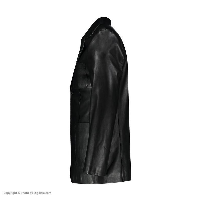 کت چرم مردانه شیفر مدل 7m77-1