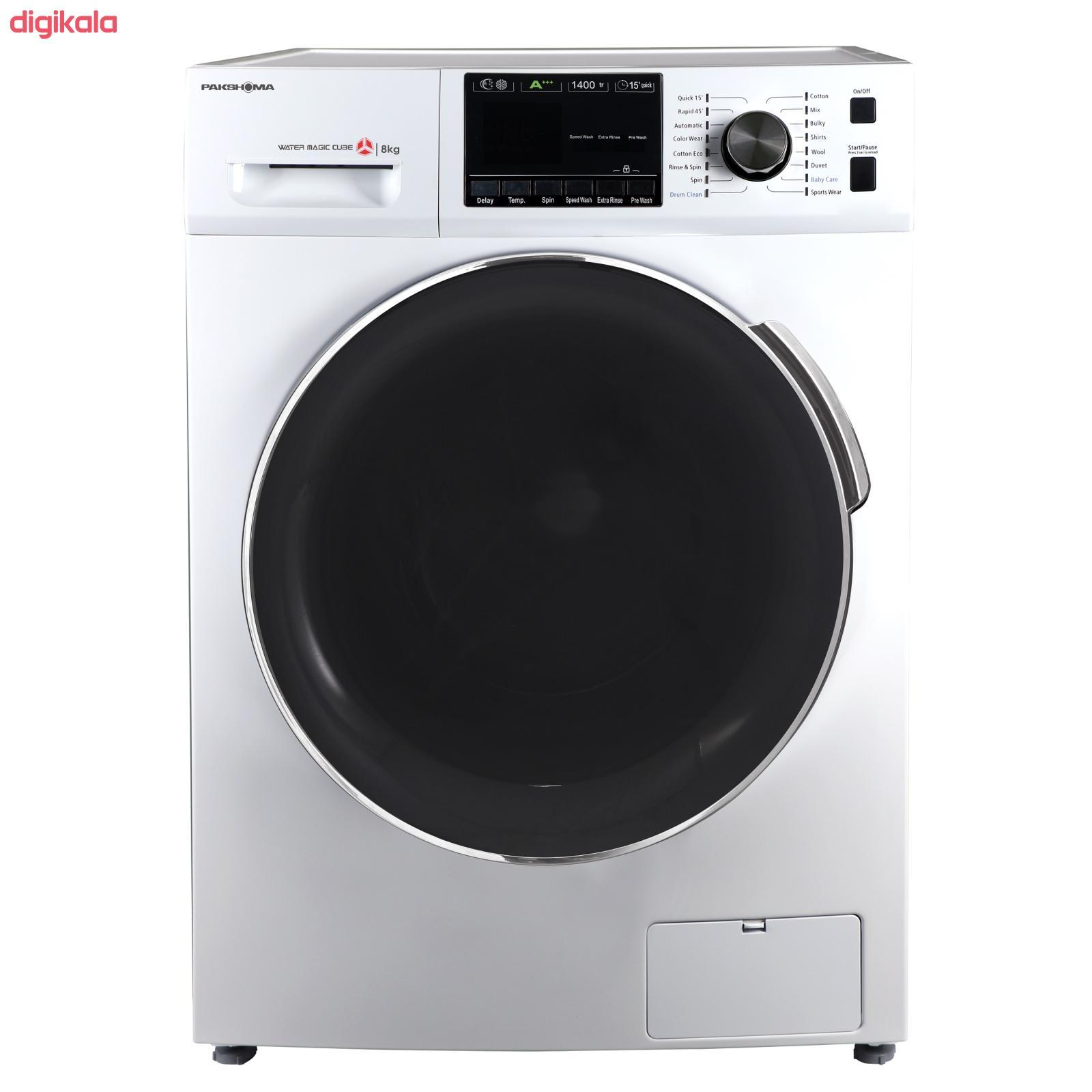 ماشین لباسشویی پاکشوما مدل TFU-84401 ظرفیت 8 کیلوگرم main 1 1