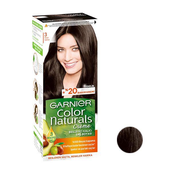 کیت رنگ مو گارنیه شماره 7N حجم 40 میلی لیتر رنگ قهوه ای تیره