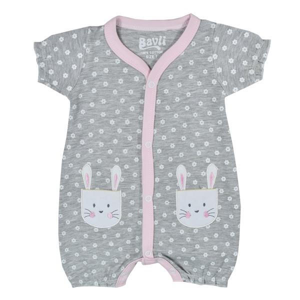 سرهمی نوزادی باولی مدل خرگوش دو جیب