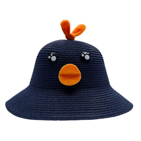کلاه بچگانه مدل جوجه اردک رنگ سرمه ای