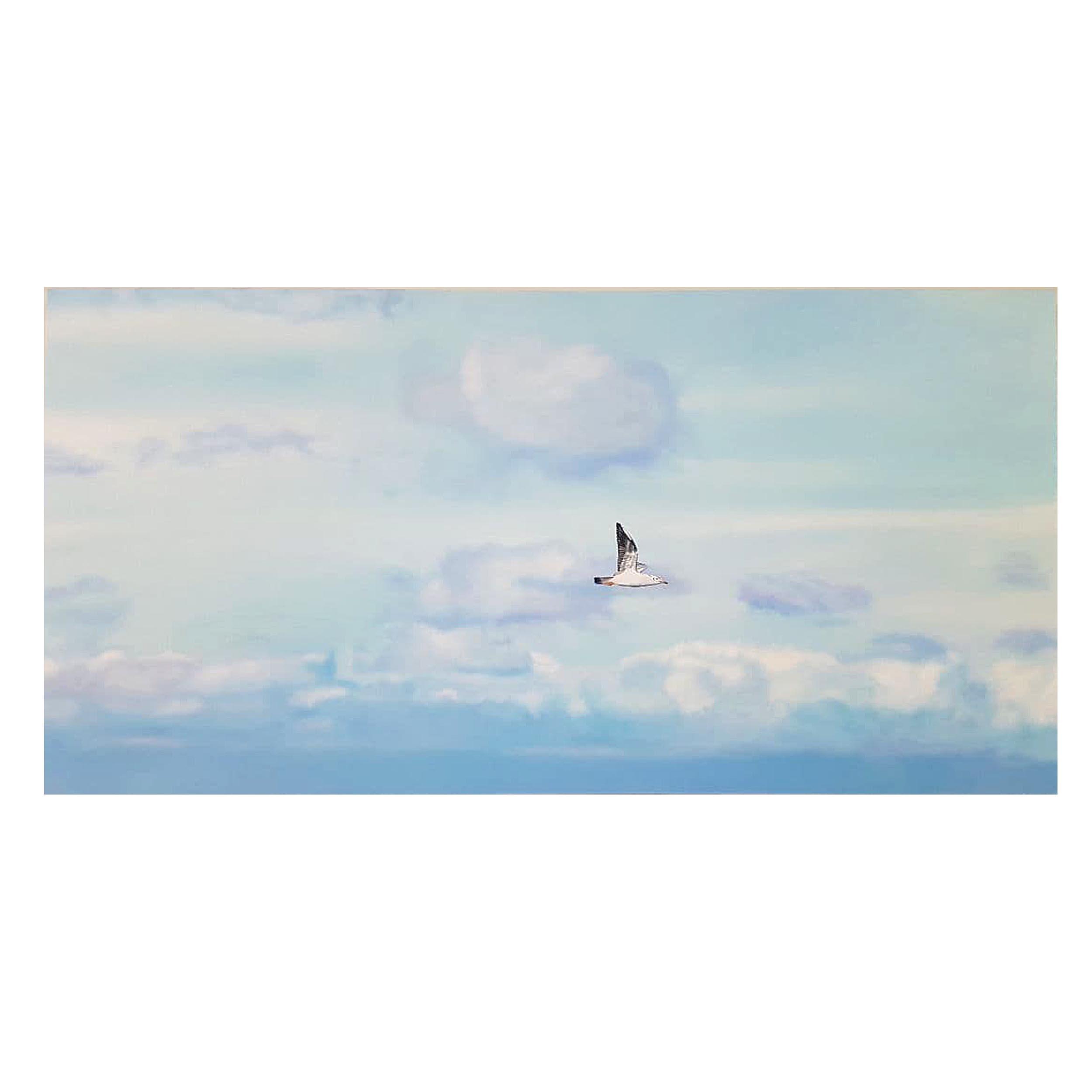 تابلو نقاشی رنگ روغن طرح رهایی کد 139