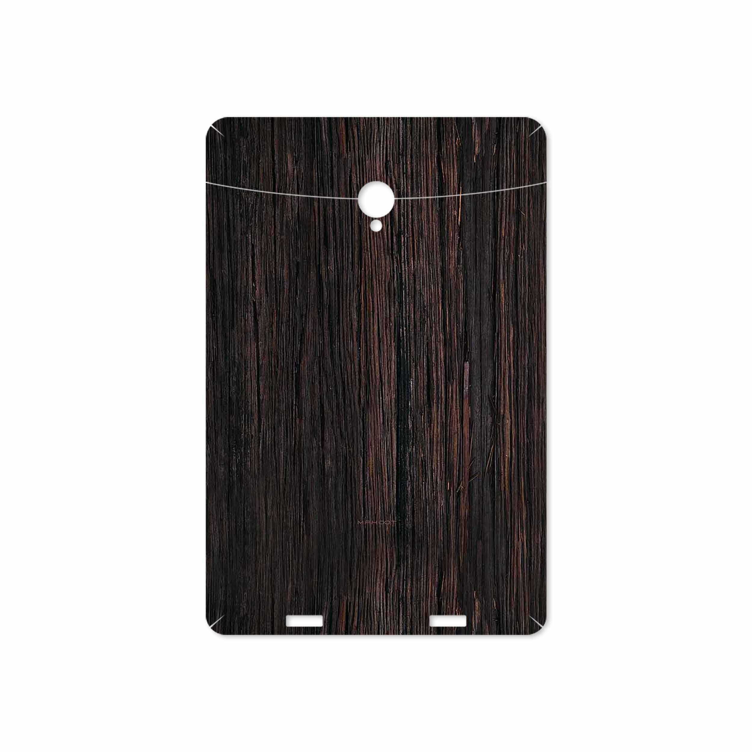 بررسی و خرید [با تخفیف]                                     برچسب پوششی ماهوت مدل Burned Wood مناسب برای تبلت وریکو Unipad                             اورجینال