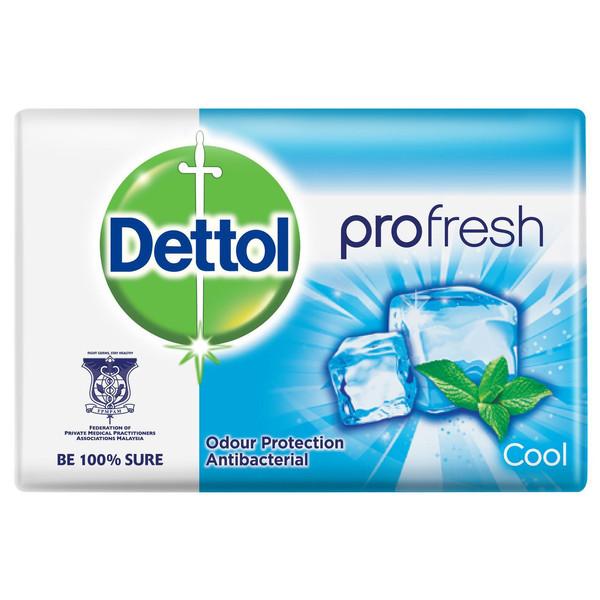 صابون ضد باکتری دتول مدل Profresh cool وزن 105 گرم