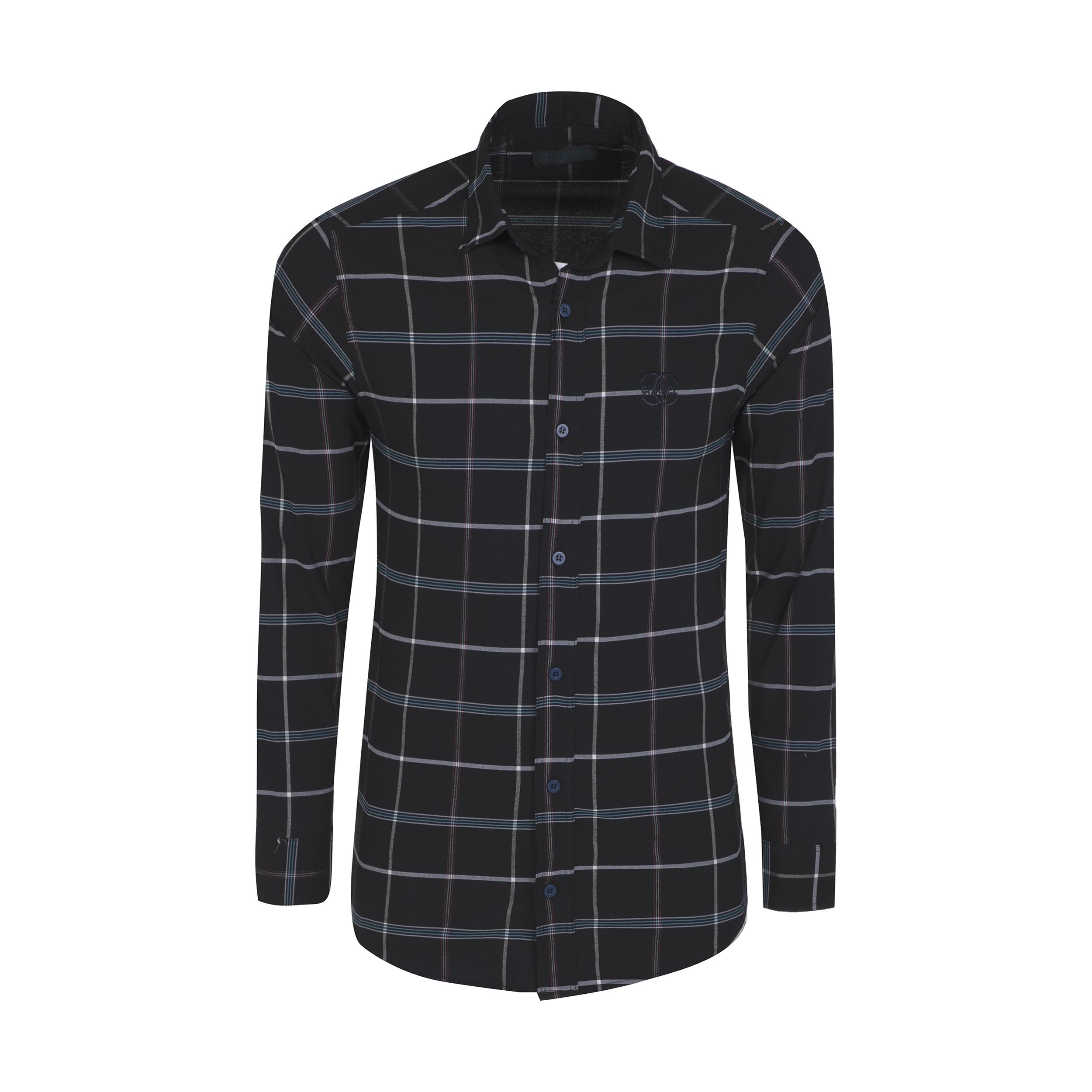 پیراهن آستین بلند  مردانه مدل 344006202                     غیر اصل