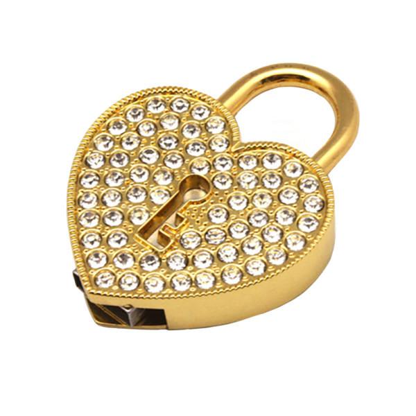 فلش مموری پرلیت یو اس بی طرح قفل قلبی کد W-49  ظرفیت 128 گیگابایت
