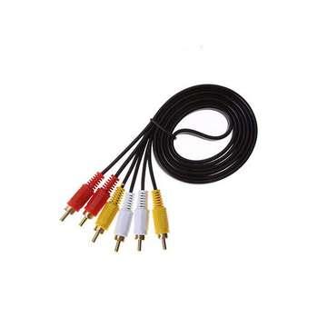 کابل تبدیل 3 به 3 RCA  کد 43 طول 1.5 متر