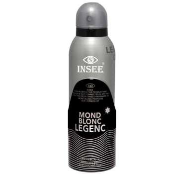 اسپری خوشبو کننده بدن مردانه اینسی مدل Mond Blonc حجم 200 میلی لیتر