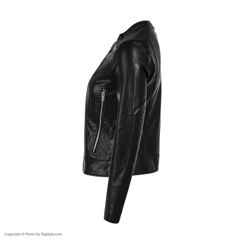 کت چرم زنانه کالینز مدل CL1035930-BLK