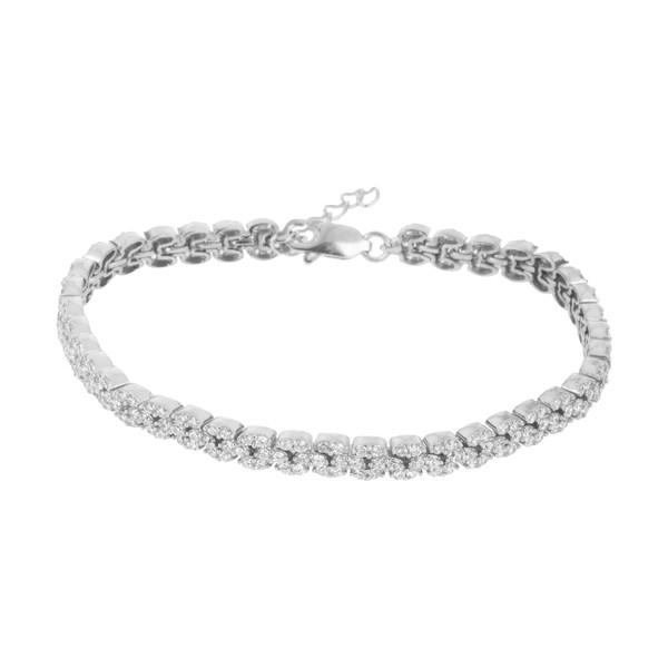 دستبند نقره زنانه سینانر مدل SNR-R059