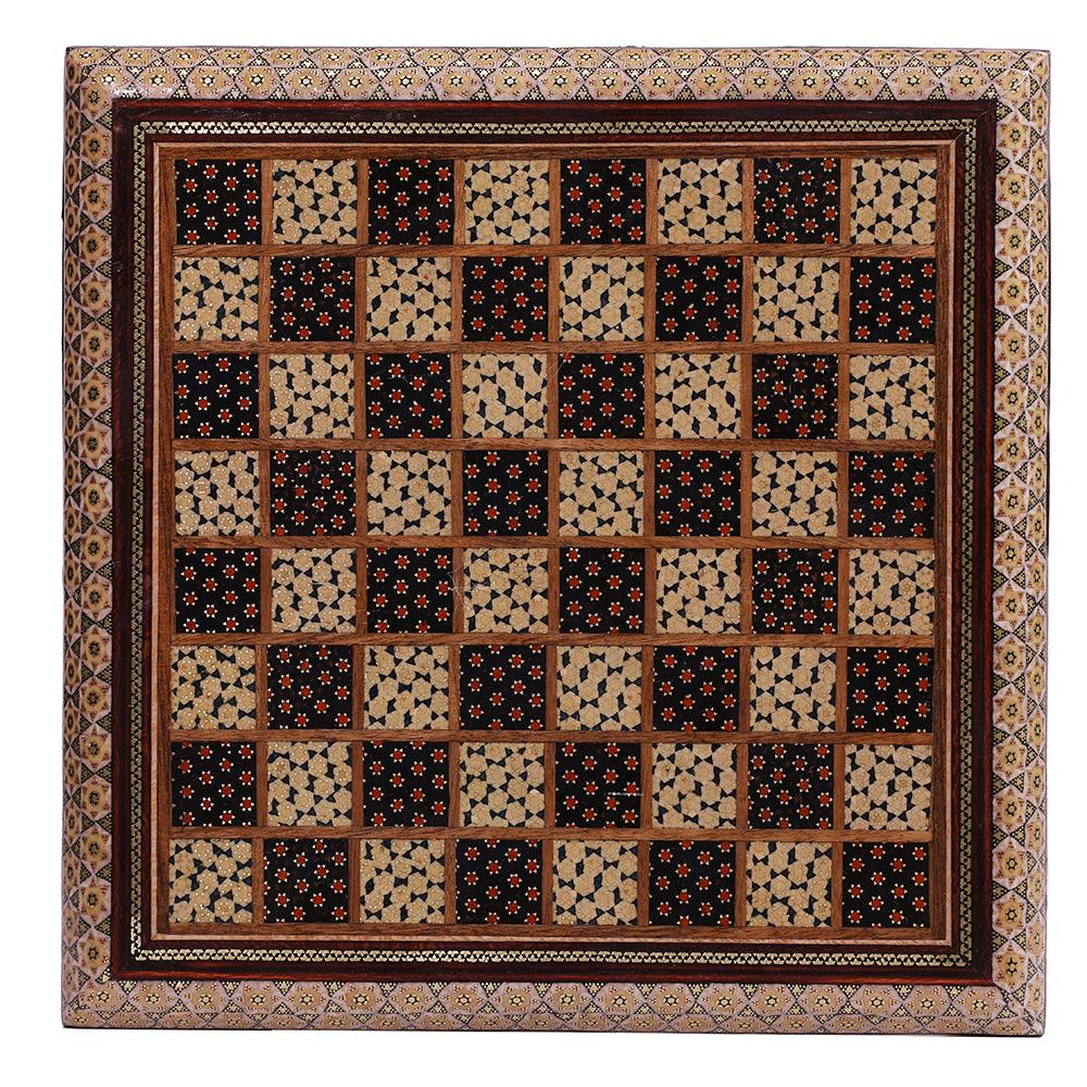 صفحه شطرنج خاتم کاری کد 458