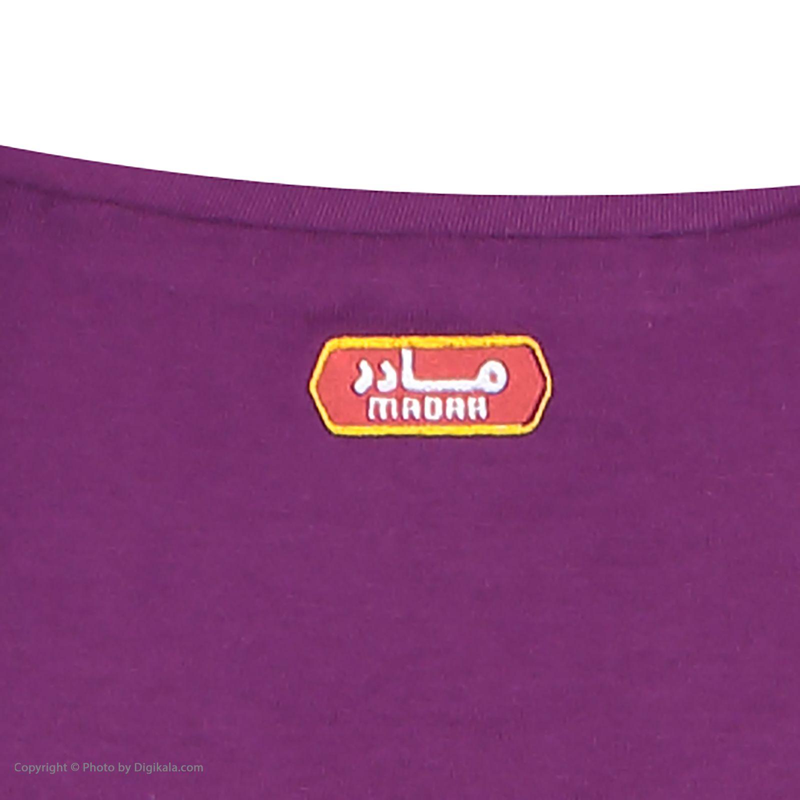 ست تی شرت و شلوار راحتی زنانه مادر مدل 2041104-67 -  - 12