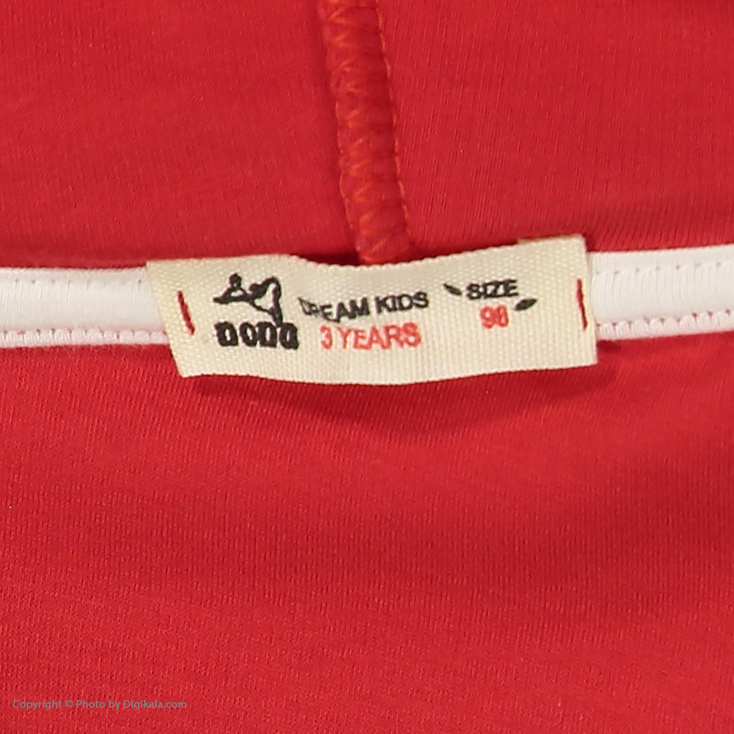 خرید                                     هودی بچگانه نونا مدل 221110305-72