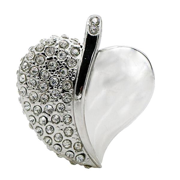 فلش مموری پرلیت یو اس بی طرح قلب کد W-64 ظرفیت 16 گیگابایت