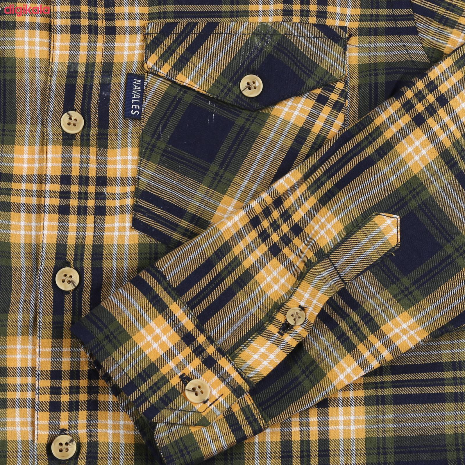 پیراهن پسرانه ناوالس کد R-20119-YL main 1 3