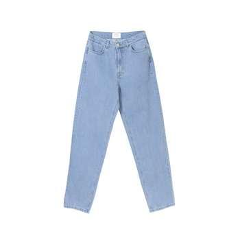 شلوار جین مردانه کوی مدل دایی رنگ آبی روشن