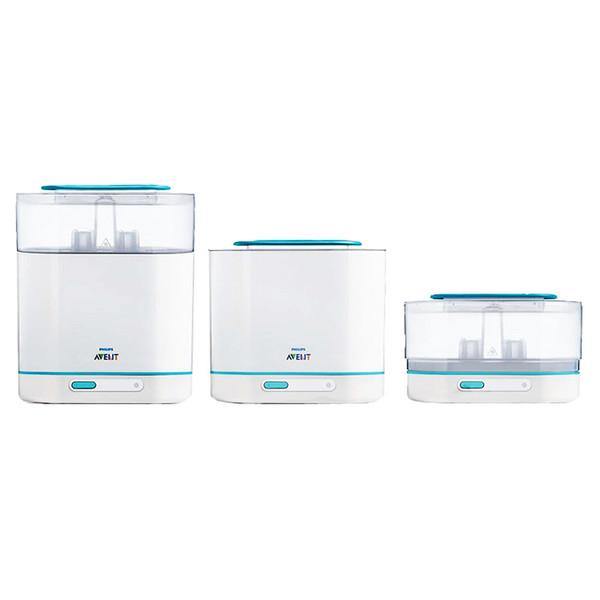 استریل کننده شیشه شیر اونت کد 30700 مجموعه 3 عددی
