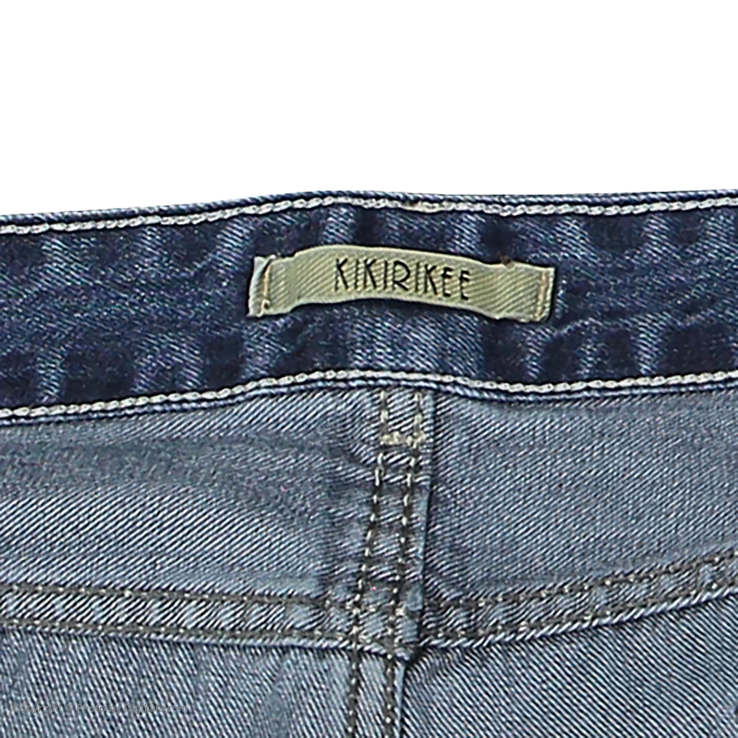 شلوار جین زنانه کیکی رایکی مدل BB3354-200 -  - 5