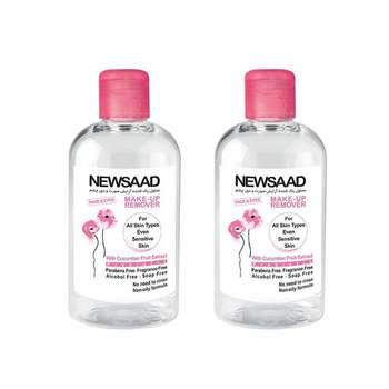 محلول پاک کننده آرایش صورت نیوساد مدل Prebiotic حجم 250 میلی لیتر مجموعه 2 عددی