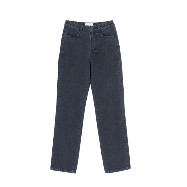 شلوار جین مردانه کوی مدل 137 رنگ تیره خاکستری