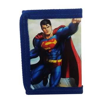کیف پول پسرانه مدل سوپرمن کد 0078