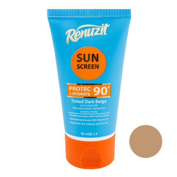 کرم ضد آفتاب رینوزیت مدل AB حجم 50 میلی لیتر