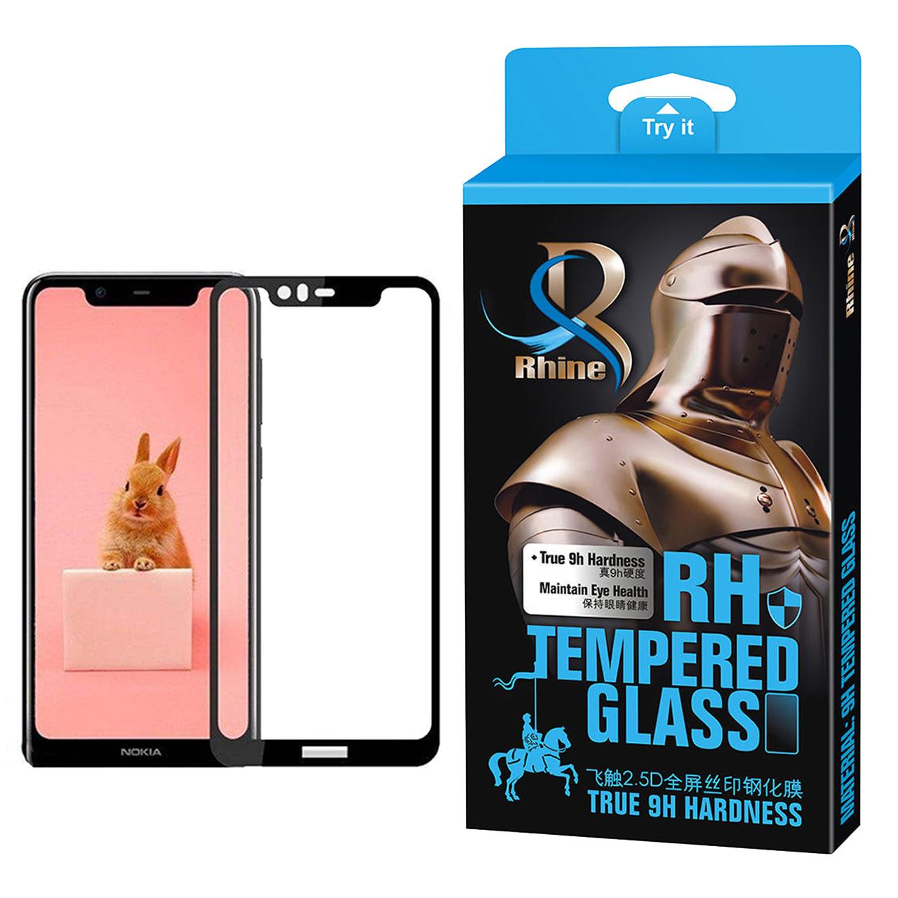 خرید                     محافظ صفحه نمایش راین مدل R_9 مناسب برای گوشی موبایل نوکیا 5.1 Plus